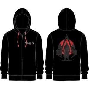 Assassins Creed Logo Adult Sized Zip Up Hoodie