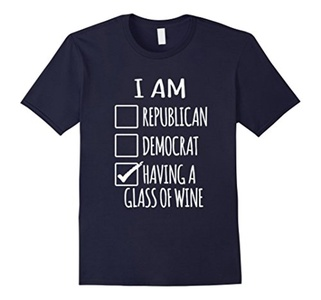 Men's I Am Having A Glass Of Wine  Small Navy