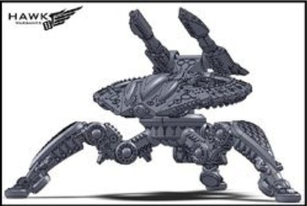 Dropzone Commander Shaltari Birdeater Battle Strider (2 Figures) by Dropzone Commander