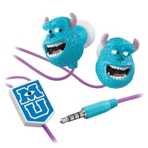 Monster's U Sully Scare and Wear Earbuds by Monsters U