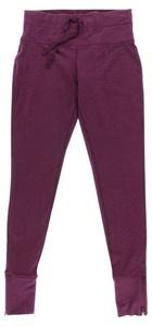 Studio Capezio Womens Zhanna Skinny Pants Purple S