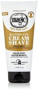 Magic Smooth Razorless Hair-Removing Cream 6oz/170g by Magic