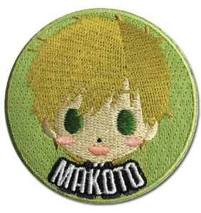 Patch - Free! - New SD Makoto Iron-On Anime Licensed ge44168 by Free!