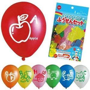 104 pcs set alphabet balloons balloons balloons and Mr. (japan import) by Balloon set of Mr. and balloons