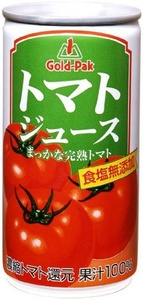 Gold Pack tomato juice (reduction) salt additive-free 190gX30 this by GOLD PACK 2016