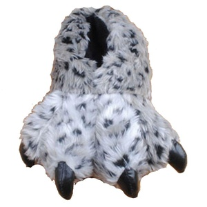 Winter Faux Fur Plush Leopard Indoor Home Slipper (05)