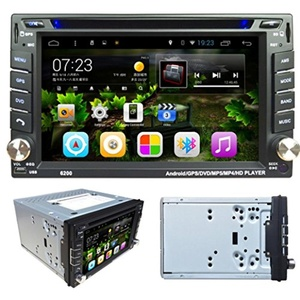 Leewos Play BT 3G Android 4.4.2 6.2 Inch Wireless Bluetooth-dash DVD Player, GPS Navigation Definition Touch Screen Car Stereo