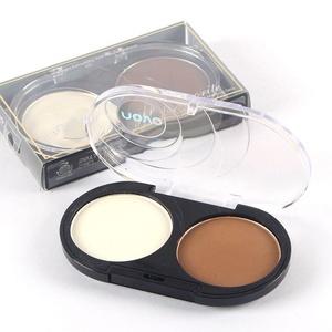 YANQINA Makeup Blush Bronzer Highlighter Concealer Bronzer Palette Comestic 2 Colors