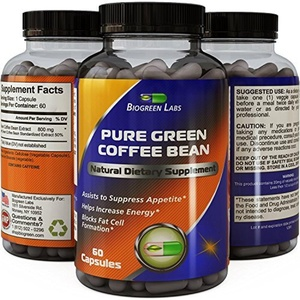 Best Pure Green Coffee Bean Extract Extra Strength Formula for Women & Men Highest Grade & Quality Supplement 800 Mg Weight Loss Dosage - Guaranteed By Biogreen Labs by Bio Green