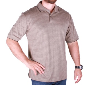 Hudson River Heritage Classics Men's Short Sleeve Polo