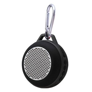 HLS S303 Portable Mini Wireless Bluetooth Travel Speaker with Enhanced Bass Built-in Microphone / FM Radio / Hands-free Calling for iPhone, iPad, Computer and More - Support TF (Micro SD) Card - Black