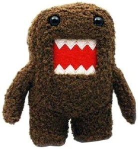Licensed 2 Play Domo 6 1/4 Plush Novelty Doll by Licensed 2 Play Toys