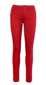 Blue Topaz Women's Stretch Low Rise Skinny Pants