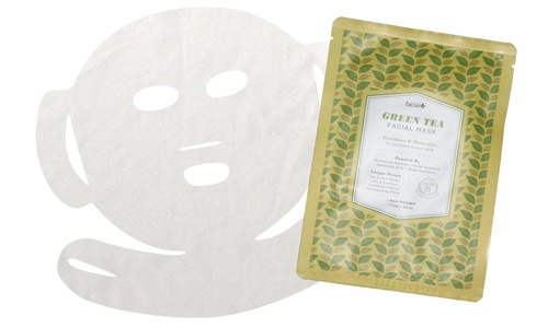 Facial+ Firm & Lift Facial Mask GREEN TEA Energizes & Detoxifies: for all/combination skin