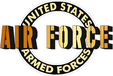 United States Armed Forces Air Force Vehicle Decal