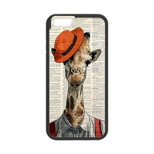 Case for iPhone6/6S,Case for iPhone 6S,Case Cover for iPhone 6(4.7 inch),Giraffe Phone Case Cover For iPhone 6 6S,Giraffe Waterproof Rubber Case Cover Protector for iPhone 6 6S