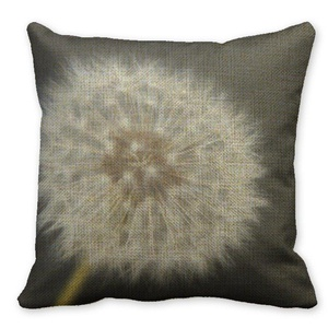 Mooninght Floral Sophisticated Square Cushion Cover
