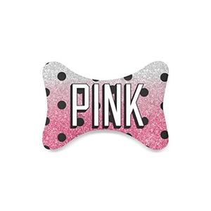 Fashion Custom Love Pink Bone Shape Car Seat Neck Rest Custom Car Neck Pillow/Cushion Head Support Neck Support Pillow