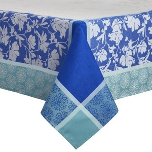 Sur La Table Floral Jacquard Tablecloth FLOWER SPRING , 70