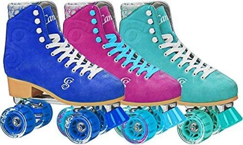 Roller Derby Candi Grl Carlin Women's Roller Skates, Sea Foam, Ladies 5 by Roller Derby