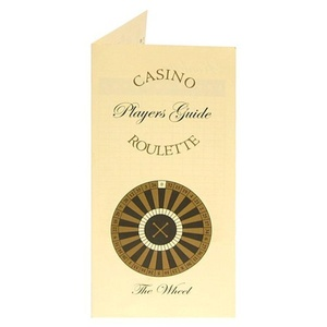Roulette Players Guide Pack of 60 by Roulette Players Guide Pack of 60