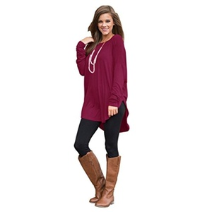 Women Casual Tops, Misaky Off Shoulder Long Sleeve Ladies Casual Tops T-Shirt (S, Wine)