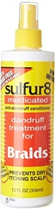 Sulfur 8 Dandruff Treatment For Braids 12 oz. Spray by Sulfur 8