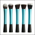 Petbly(TM) Blue Color 5 PCS Makeup Brushes Set Cosmetic Tool Powder Foundation Blush Brushes