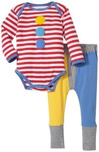 Rockin' Baby Clown Bodysuit Set (Baby)