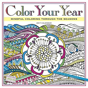 2017 COLOR YOUR YEAR WALL CALENDAR