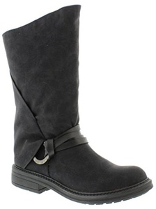 Blowfish Fenni Black Womens Mid Calf Boots Shoes