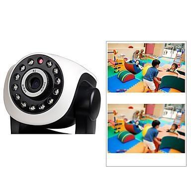 ZONEWAY® PTZ Indoor IP WiFI Camera 720P IR-cut Day Night P2P Wireless