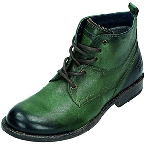 Miccos Shoes womens Laced boot green size 42.0 EU