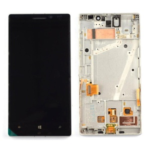 NEW For White Nokia Lumia 930 LCD Display With Touch Screen Assembly W/Frame