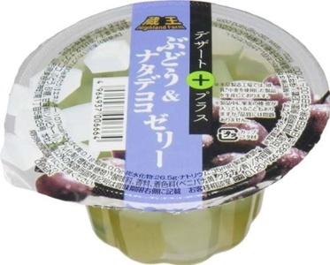 Zao HighlandFarm dessert plus grapes and nata de coco jelly 160gX12 pieces by Zao Plateau
