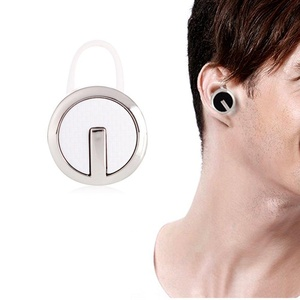 Bluetooth Headset, NeaWo Bluetooth Wireless Stereo Earbud Noise Canceling Headphone Compatible with iPhone, Android, and Other Bluetooth Smartphones (Silver/white)