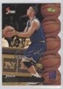 Jason Kidd (Trading Card) 1995 Classic 5 Sport - [Base] - Autograph Edition Silver #S98