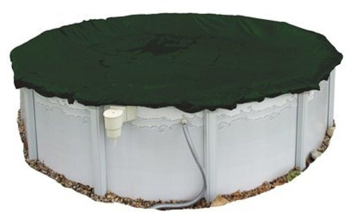 Blue Wave Arctic Armor Above Ground Winter Cover - 12 Year Warranty Oval 12ft x 28ft by Blue Wave