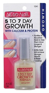 Nutra Nail 1241 5 To 7 Day Nail Growth Care With Calcium (Pack of 6) by Nutra Nail