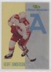 Geoff Sanderson #/25,000 (Hockey Card) 1993-94 Classic Draft - Team Canada #TC6