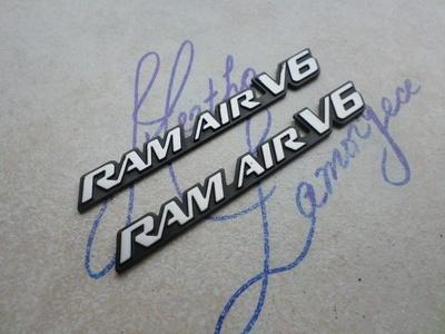 01-05 Pontiac Ram Air V6 Side Door Fender Emblem 22622403 Logo 22623545 Nameplate 22619420 Decorative Ornament 22663056 Script Set