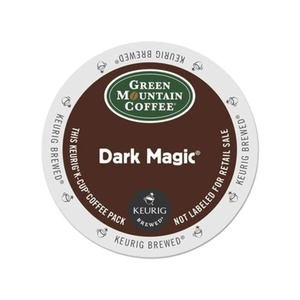 Green Mountain Coffee Dark Magic, Extra Bold, Dark Roast, 192 K-Cups for Keurig Brewers, 24-Count (Pack of 8) by Green Mountain Coffee Dark Magic Extra Bold Coffee