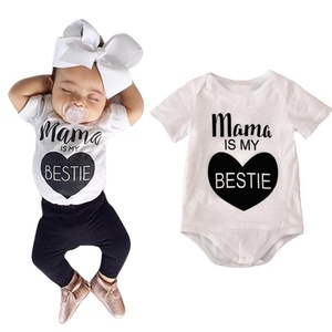 Baby's Clothes, Mchoice Cotton Newborn Baby Boys Girls Clothes Print Romper Jumpsuit Bodysuit Outfits (Age: 9~12 Months old, White)