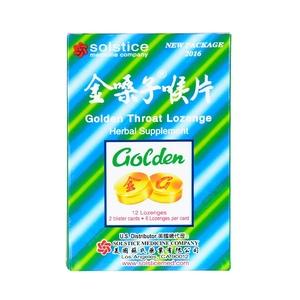 Golden Throat Lozenge, 12 Lozenges (Pack of 5)