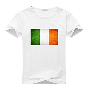 Irish Flag For Beer For 2016 Boys Girls Printed Short Sleeve tops t shirts