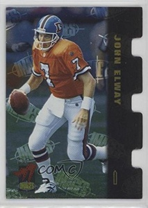John Elway #807/965 (Football Card) 1995 Classic Images Limited Die-Cuts #DC5