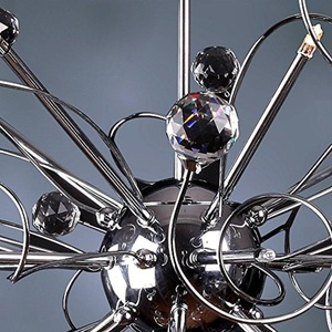 COMEONLIGHT Modern Crystal chandelier with 15 Lights