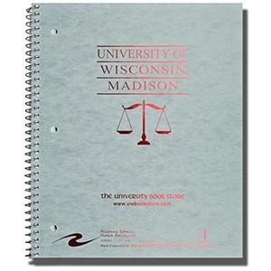 Roaring Springs 100 Sheet Notebook Law Ruled (Gray)