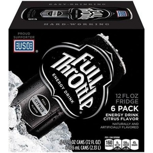 16 Pack - Full Throttle Energy Drink - Citrus - 12oz. by Coca-Cola