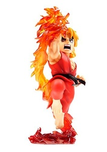 STREET FIGHTER PVC STATUE WITH SOUND & LIGHT UP KEN 22CM by Street Fighter